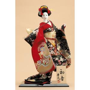 日本人形 尾山人形 人形単品 寿喜代作 初音 金彩 10号 sk-o1684|2508-honpo