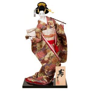 日本人形 尾山人形 人形単品 寿喜代作 寿 ちりめん 12号 sk-o2628|2508-honpo