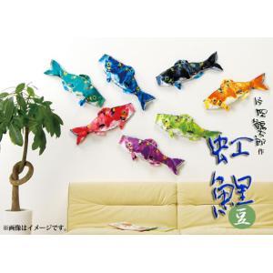 こいのぼり 鯉のぼり 片岡鶴太郎 虹鯉|2508-honpo