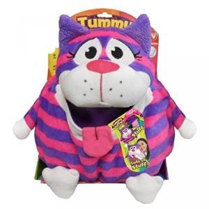 ■商品詳細 Purple and pink striped cat stuffed animal w...