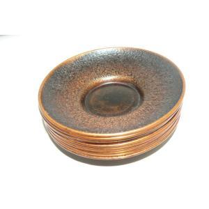 古い銅の茶托 10枚 中古 長期保管品|25dou