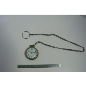 アンティーク WESTCLOX Scotty 手巻き懐中時計 USA 中古|25dou