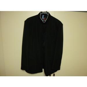 カンコー B−1 ラウンドカラー黒学生服(学ラン)175A ライナー付き 中古 青森高校 大ボタンなし 業者クリーニング済み|25dou