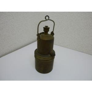 レトロ 古道具 真鍮製ガストーチと思われる道具 中古 長期保管品|25dou