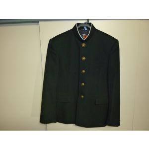 カンコー B−1 ラウンドカラー黒学生服(学ラン)155A 中古 業者クリーニング済み|25dou