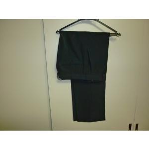 トンボ TOMBOW 黒学生服(学ラン)夏ズボン W73 中古 ボタン無し 業者クリーニング済み|25dou