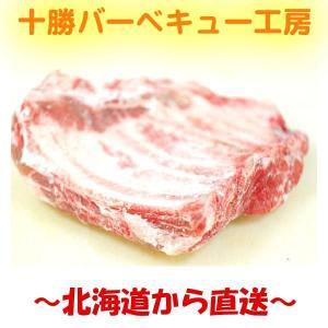 業務用 北海道産 骨付き豚スペアリブ ブロック 1枚|2983
