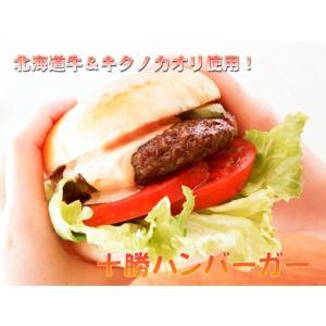 【送料割引対象外】【同梱不可】業務用 十勝バーガーセット (バンズ50個 パテ50個 ハンバーガー)|2983