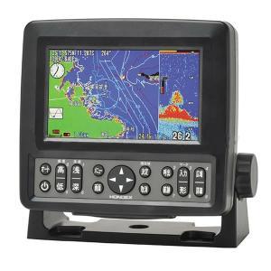 魚探 HONDEX ホンデックス  5型ワイドカラー液晶プロッター魚探 HE-601GPII ( H...