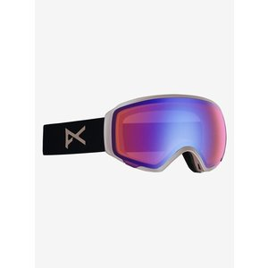 Women's anon/アノン WM1 Goggle Asian Fit With Bonus Lens(Rosegold / SONAR Blue)|2doors-store