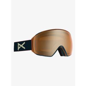 Men's anon/アノン M4 Toric Goggle Asian Fit With Bonus Lens(Royal / SONAR Bronze)|2doors-store