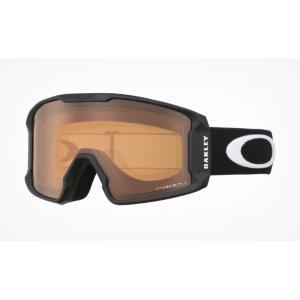 Men's OAKLEY/オークリー Line Miner XM Snow Goggle(Matte Black/Prizm Persimmon)|2doors-store