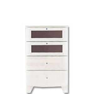 ami 50Sローチェスト タンス ホワイト クローゼット 木製 完成品 日本製 送料込 衣類 収納 送料無料 2e-unit