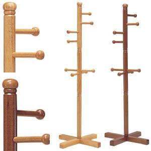 支柱が太めの天然木キッズハンガー 収納  送料無料|2e-unit