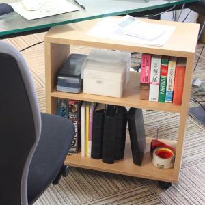 クローゼット本棚 サイドワゴン ラック ブックワゴン 書類整理  送料無料|2e-unit