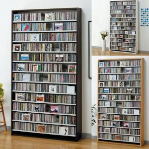 CDラック 大容量 幅109cm CD1284枚収納 コレクター仕様CDラック CD 収納 木製 お 送料無料|2e-unit