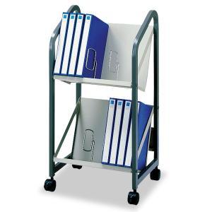 幅46.5cmファイルワゴン2段タイプ キャスター付き オフィス家具 オフィス収納 SOHO収納 A 送料無料|2e-unit