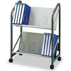 幅67cmファイルワゴン2段タイプ キャスター付き オフィス家具 オフィス収納 SOHO収納 A4フ 送料無料|2e-unit