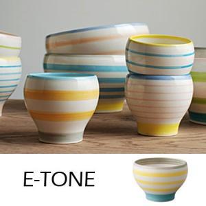 食器 E-TONE ボール 直径12cm イエロー|2e-unit