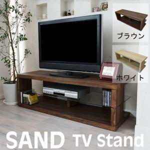 SAND テレビ台 木目調 ローボード コーナー リビングボード TV 伸張 木製 AV収納 送料無料|2e-unit