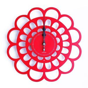 ヤマト工芸 BOTAN 全7色 YK13-101 壁掛け時計 ぼたん 牡丹 シンプル モダン おしゃれ かわいい 掛け時計 掛時計 ウォールクロック CLOCK 時計 日本製|2e-unit