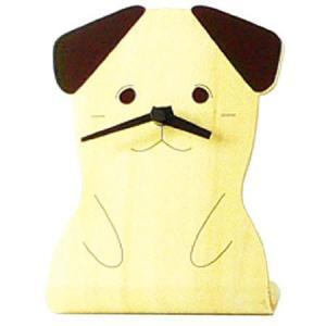 ヤマト工芸 ANIMAL CLOCK イヌ 犬 YK05-104 置き時計 アニマル動物 子供部屋 シンプル モダン おしゃれ かわいい 置時計 クロック CLOCK 時計 日本製|2e-unit