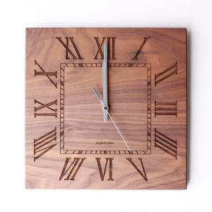 ヤマト工芸 MUKU スタンダード ローマ数字 ウォールナットYK14-101 壁掛け時計 シンプル モダン おしゃれ かわいい 掛け時計 掛時計 時計 日本製|2e-unit