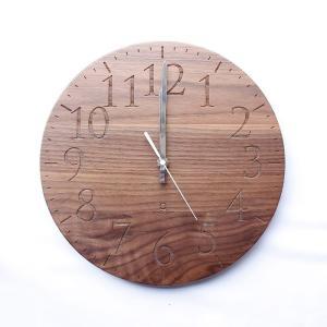 ヤマト工芸 MUKU エン ウォールナット YK15-102 壁掛け時計 シンプル モダン おしゃれ かわいい 掛け時計 掛時計 ウォールクロック CLOCK 時計 日本製|2e-unit