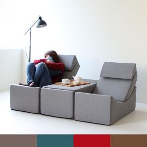 ソファ 一人掛け シングル ベンチ サイドテーブル パーソナルソファ おしゃれ デザイン|2e-unit