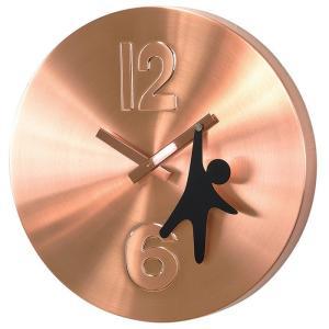 EDGE HANGING MAN 30cm 壁掛け時計 シンプル モダン おしゃれ かわいい 掛け時計 掛時計 ウォールクロック CLOCK 時計|2e-unit