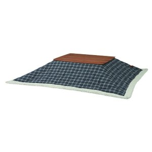 薄掛コタツ布団 長方形 ポリエステル・アクリル合皮製 幅190×奥行230cm 天板サイズ120×80cm以下 2e-unit