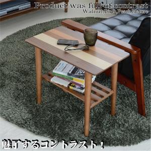 サイドテーブル 北欧 木製サイドテーブル 木製 テーブル リビングテーブル|2e-unit