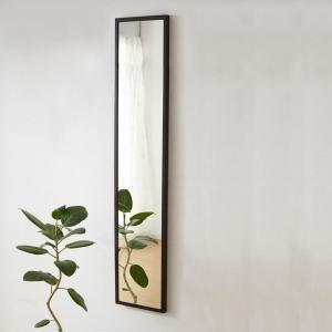 石膏ボード壁用のミラー スリムタイプ 20×145cm ミラー付き壁棚シリーズ 壁掛け 壁  送料無料|2e-unit