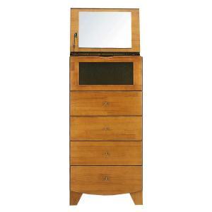 LUNA 50Sドレッサーチェスト  衣類収納  完成家具 木製 収納 コスメ収納 寝室  送料無料|2e-unit