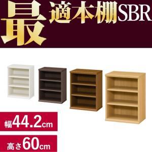 本棚 シンプル 本棚に最適な本棚 SBR幅44.2cm奥行31cm高さ60cm  レビューを書いて送料無料|2e-unit