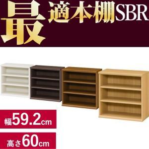 本棚 シンプル 本棚に最適な本棚 SBR幅59.2cm奥行31cm高さ60cm  レビューを書いて送料無料|2e-unit