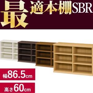 本棚 シンプル 本棚に最適な本棚 SBR幅86.5cm奥行31cm高さ60cm  レビューを書いて送料無料|2e-unit