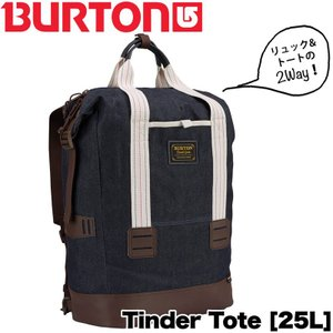 BURTON バートン 2way バッグ TINDER TOTE DENIM|2m50cm