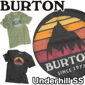 BURTON バートン Tシャツ Underhill Logo SS Tee|2m50cm