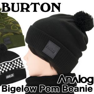 BURTON バートン Analog Bigelow Pom Beanie|2m50cm