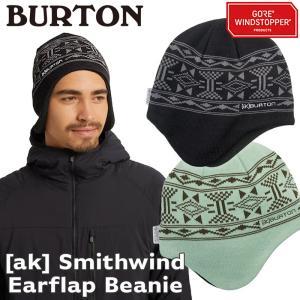 帽子 BURTON バートン Smithwind Ear Flap Beanie イヤーフラップ ビーニー|2m50cm