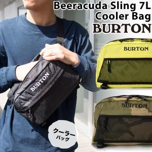 クーラーバッグ BURTON バートン Beeracuda Sling 7L Cooler Bag ビアラクーダ スリング|2m50cm