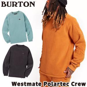 フリース プルオーバー BURTON Westmate Polartec Crew バートン ウエストメイト ポーラテック クルー 2m50cm