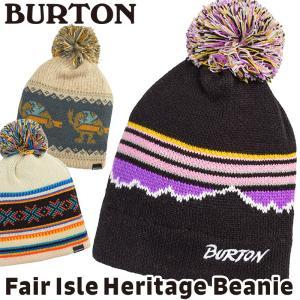 帽子 BURTON バートン Fair Isle Heritage Beanie フェアアイル ヘリテージ ビーニー 2m50cm