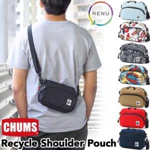 CHUMS チャムス ショルダーバッグ 小型 リサイクルショルダーポーチの画像