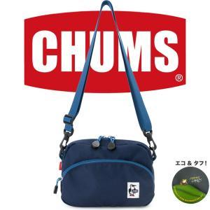チャムス CHUMS エコショルダーポーチ ll ネイビー|2m50cm