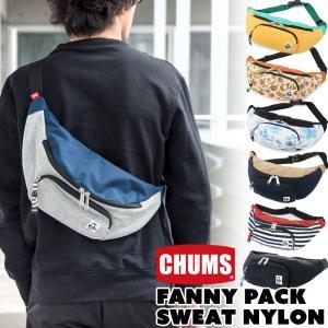 チャムス CHUMS ボディバッグ ファニーパック ウエストバッグ|2m50cm
