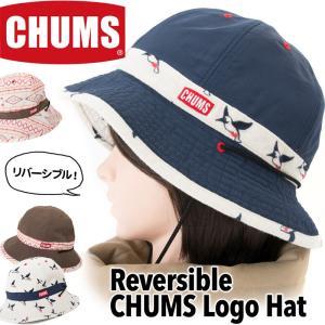 チャムス CHUMS 帽子 リバーシブル チャムス ロゴ ハ...