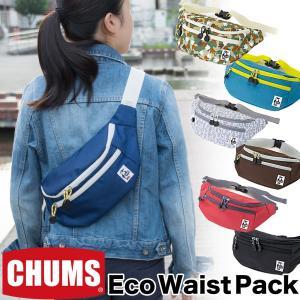 チャムス CHUMS エコ ウエストパック|2m50cm