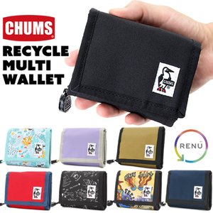 チャムス CHUMS 財布 エコ マルチ ウォレット|2m50cm